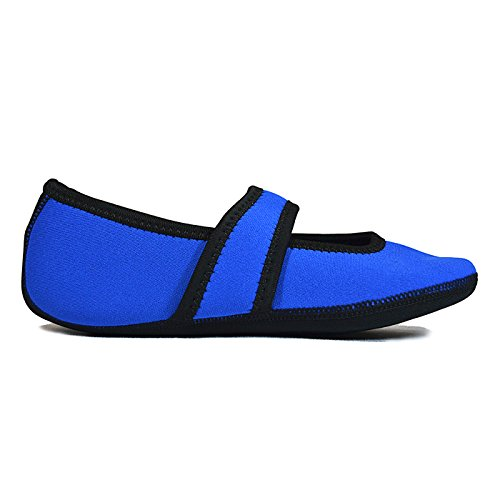 Nufoot Pantofola Neoprene in Shoes Lou donna motivo Royal Blue Betsy 6r6qx4wZ