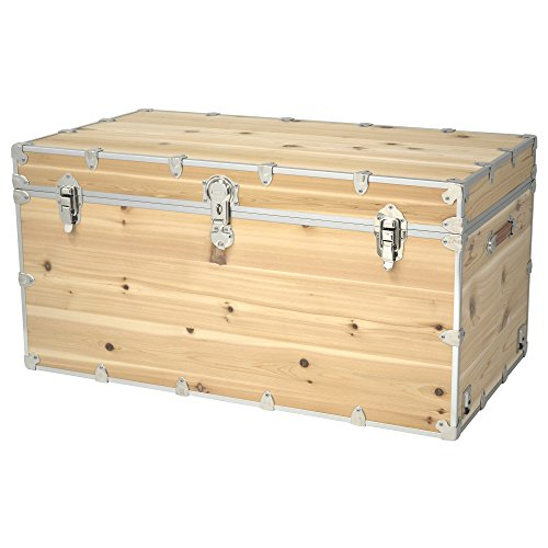 (Rhino Trunk and Case Knotty Cedar Trunk, Jumbo)
