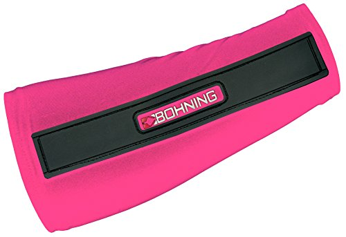 Bohning Slip-On Armguard, Pink, 8-Inch/Small