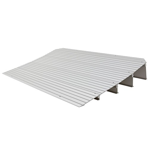 "Rage Powersports THR4 4-1/4"" High Aluminum Threshold Ramp for Wheelchairs, Scooters, and Power Chairs"