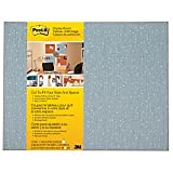 Post-it Cut-to-Fit Display Board, 18 x 23-Inches, Ice color with 2 Attachments