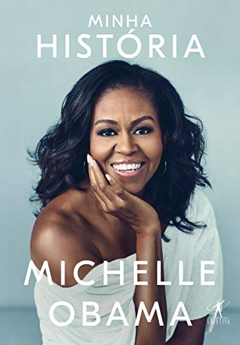 Book cover from Minha História by Michelle Obama