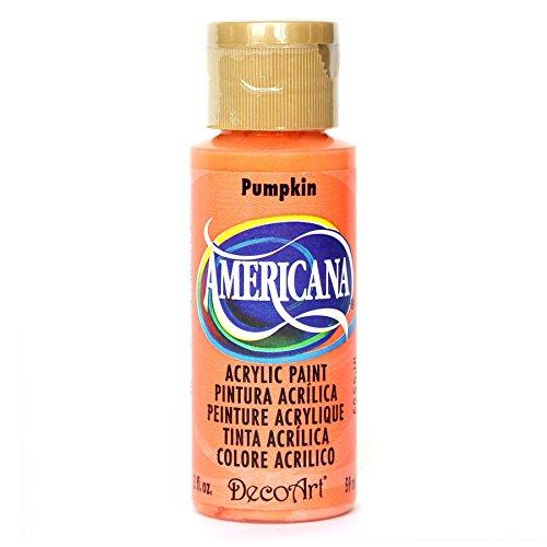 DecoArt Americana Acrylic Paint, 2-Ounce, Pumpkin -