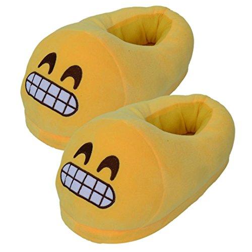 Emoji Toothy Slippers