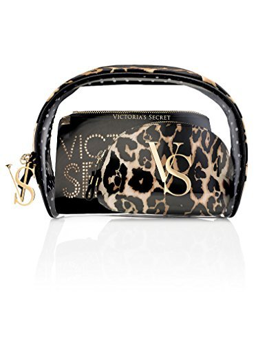 Victoria Secret Leopard - Victoria's Secret Leopard Cosmetic Bag Trio