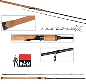 DAM Nanoflex G2 - Spinning rod, 7.00 ft, 7-21g, 2 parts