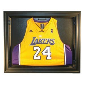 Removable Face Basketball Jersey Display, Black