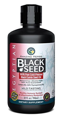 Amazing Herbs Egyptian Black Seed Oil - 32 Ounces by Amazing Herbs