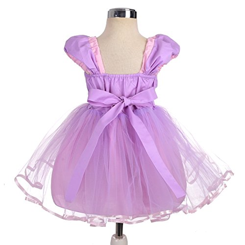 Dressy Daisy Girls Princess Rapunzel Dress Costumes for Little Girls Halloween Fancy Party Dress Size 6 by Dressy Daisy (Image #1)