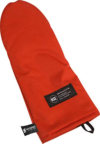 San Jamar CTP13 Cool Touch Puppet Oven Mitt Heat Protection up to 500° F, 13
