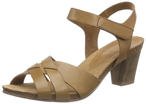Caprice 28307 - Sandalias de tobillo Mujer Marrón - Braun (COGNAC 305)