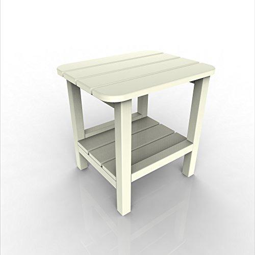 Malibu Outdoor Living Malibu End Table - White