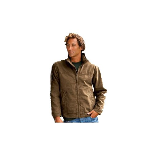 Dri-Duck Adult Maverick Quarry-Washed Canvas Jacket , Small, Tobacco