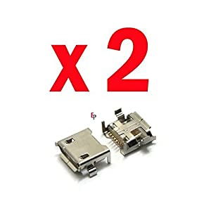 ePartSolution-2 X HP Slate 7 Voice Tab Tablet 2800, 2801 EOP94AA Charger Charging Port Dock Connector USB Port Replacement Part USA Seller