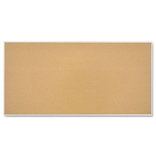 Quartet Cork Bulletin Board, 96 x 48 Inches, Aluminum Frame (S738) by Quartet