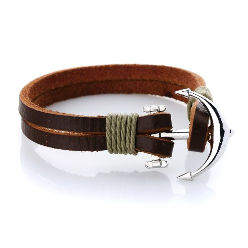 JewelrieShop Unisex Handmade Genuine Leather product image