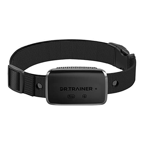 Dr.Trainer B1sPro Bark Collar with APP & Smart Watch Control, Waterproof Dog Bark Collar with Barking Record, Humane…