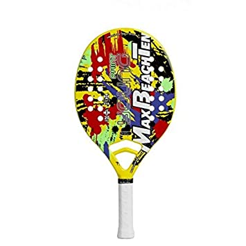 Vision Raqueta Tenis Playa Racket Mbt Young Paint 2018: Amazon.es ...