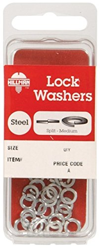 Hillman No. 6 Split Lock Washer Zinc Plated Steel