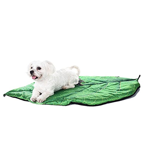 Zaote Zaote Brand New Pet Mat Leaf Shaped Pet Summer Cooling Mat