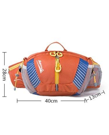 Conducción al aire libre deportes bolsillos/bolso de bandolera-púrpura naranja 1