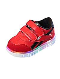 Amaping Baby Boys Girls Crystal LED Light Up Sneakers Luminous Running Sports Shoes