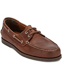 Mens Vargas Leather Casual Classic Boat Shoe