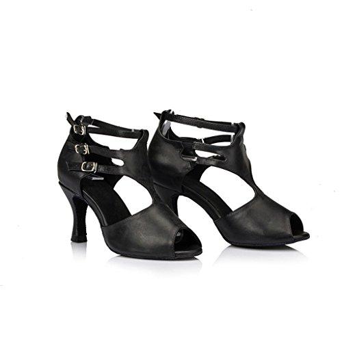 Monie Women's Sexy Modern Salsa Ballroom Tango Dance Shoes 3