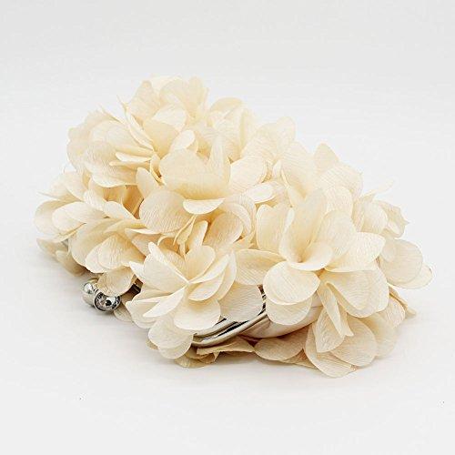 Silk Women evening Champange and Kingluck Wedding Design Handbags Colors Bag Flower more Satin Clutch Brial UxIwvXq