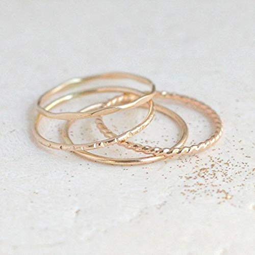 18k Gold plated Gold Pyramid Ring statement ring DUNCAN \u00b7 Spike Gold Ring thin band ring Stackable ring Gold ring minimalist ring
