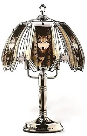 23 5 Quot H Wolf Touch Lamp Floor Lamps Amazon Com