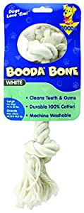 Aspen/Booda Corporation DBX50763 2-Knot Rope Bone Dog Chew Toy, Large