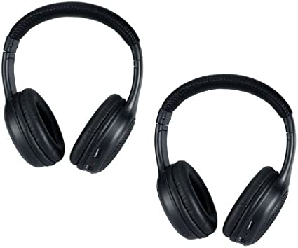 Accord Ridgeline for Honda /& Acura by DriveAudio MDX Odyssey RDX Pilot DRIVE AUDIO Wireless Headphones CR-V 2 Pack