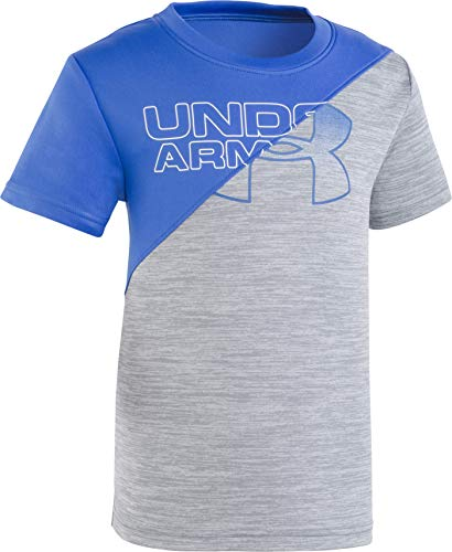 Under Armour Boys' Little Fashion SS Tee Shirt, Ultra Blue-s19, 7