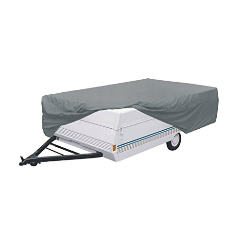 Classic Accessories OverDrive PolyPro 1 Folding Camping Trailer Cover, Fits 14' - 16' Trailers ()