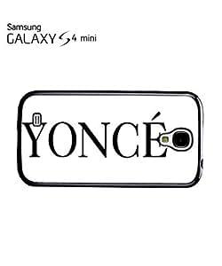 Yonce Music Flawlass Woke Up Cell Phone Case Samsung Galaxy S4 Mini Black