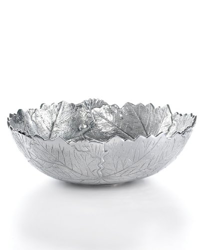 CLOSEOUT Martha Stewart Collection Serveware 12 Inches Park Leaves Salad Bowl