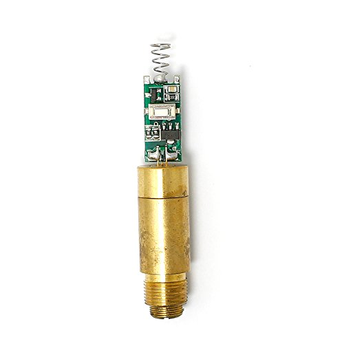 Q-BAIHE 532nm 5mW Green Laser Diode Module 3.0-4.2V with Spring