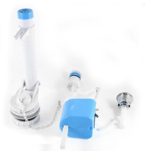(EbuyChX Plastic Lever Pull Flush Toilet Fill Drain Valves 1/2PT Thread)