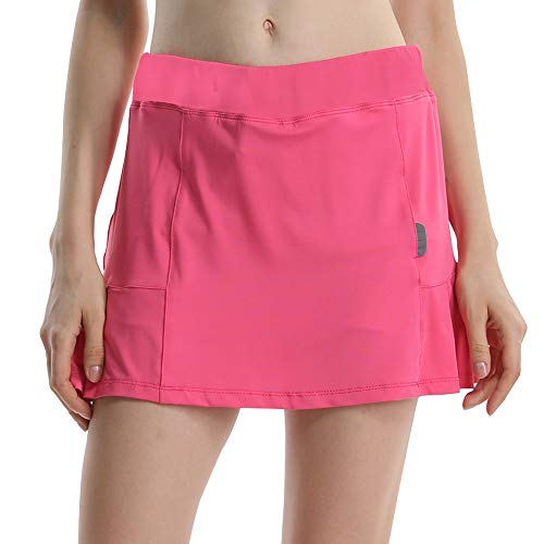 Jessie Kidden Women's Casual Golf Skirt Skorts with Shorts Running Tennis Workout ()