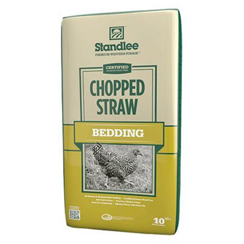 Standlee Hay Company Wheat or Barley Chopped Straw for Animal