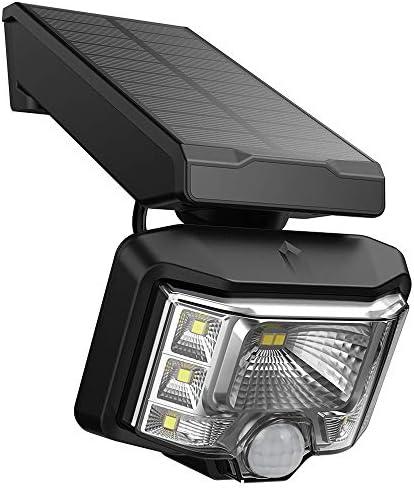 Honorall SLF0208 Solar Energy Spotlight Sopt Lamp PIR Sensoring Motion and Light Detected