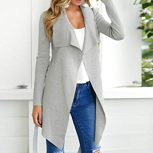 SMALLE ◕‿◕ Clearance,Women Ladies Long Sleeve Cardigan Coat Suit Top Open Front Jacket Outwear by SMALLE (Image #2)