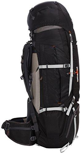 CAMPZ Mountain Pro 80+10L Rucksack schwarz 2017 outdoor-rucksack