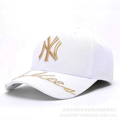 xiaochicun NY Gorra de béisbol Bordado Coreano Casual Sombrero ...
