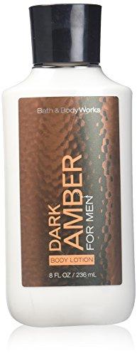 Bath Body Works Dark Amber 8.0 oz Body Lotion ()