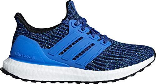 adidas Kids Grade School Ultra Boost Running Shoes (6, Blue)