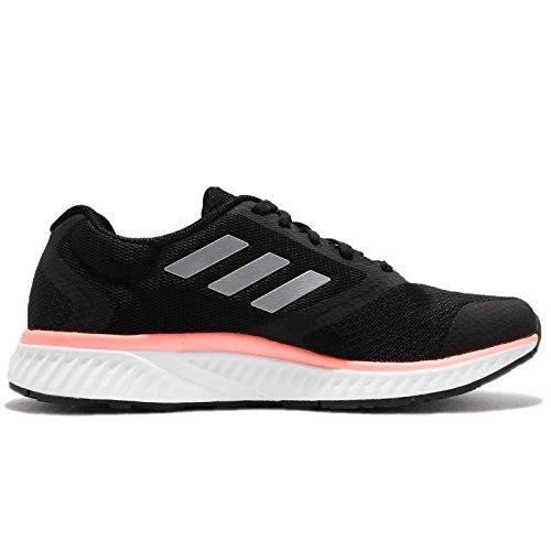 Adidas Donna Bordo Rc W, Cblack / Silvmt / Chacor, 8,5 Us