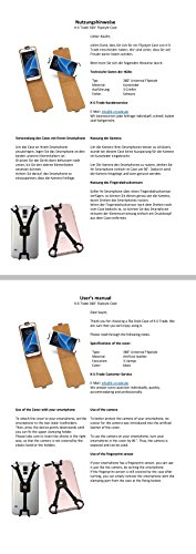 Para Samsung Galaxy S9+ Duos: Funda de protección Carcasa protectora de 360 ° Smartphone Teléfono celular Flip Style Case Protector de cámara. plano y elegante cuero artificial, negro - K-S-Trade(TM)