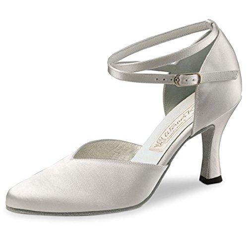 Zapato baile 5 cm de 6 tacón mujer Werner de Kern para Blanco 51qxgw